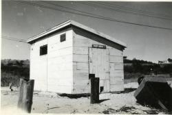 Navy pump house, Little Chebeague Island, 1947