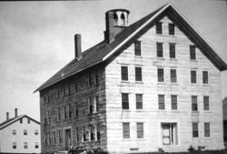 Stone Dwelling House, Sabbathday Lake Shaker Village, ca. 1915