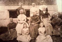 Shaker group portrait, ca. 1893