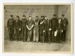 Steamboat crew, ca. 1910
