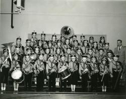 Strong School Band, Strong, ca. 1958