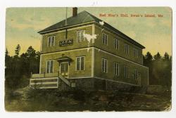 Red Men's Hall, Swan's Island, ca. 1930