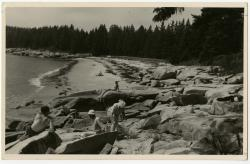 Mohler-Dewsnap family, Swan's Island, ca. 1950