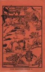 Program cover ca. 1930