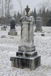 Charles Bridges gravestone, Stockton Springs