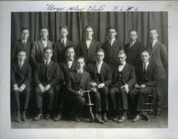 Boys' Glee Club, Farmington State Normal School, 1925