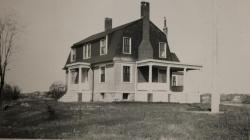 House Island quarantine station, Portland, 1941