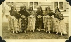 Spanish ladies, Farmington State Normal School, 1928