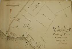 Farm plan, Congin, ca. 1840