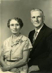 Lester and Mabel Lewis, ca. 1945