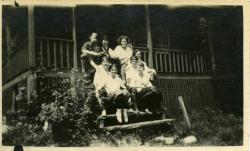 Outing Club, Farmington State Normal School, ca. 1923