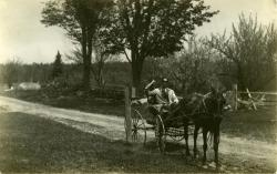 Rural Free Delivery Driver, Strong, ca. 1915