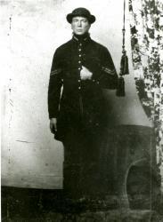 Corporal John K. Richards, Civil War soldier, ca. 1864