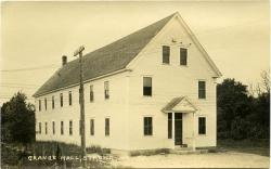 Aurora Grange Hall, Strong, ca. 1921