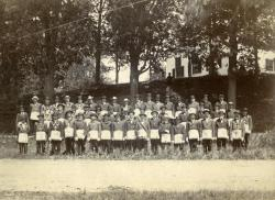 Members of Davis Lodge 191, AF&AM, Strong, cr. 1908