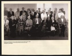 Surry Village School graduates reunion, Surry, 1980