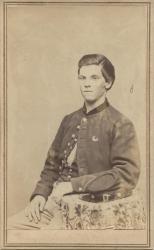Civil War infantry soldier, Vassalboro,  ca. 1864