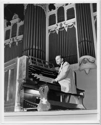 Douglas Rafter, Portland's seventh municipal organist