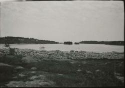 Shore from Baird's Quarry, Swan's Island, ca. 1900