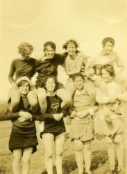 Pyramid of Pals, Farmington State Normal School, ca. 1929