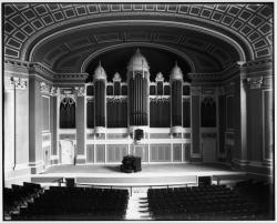 City Hall Stage in 1912