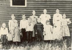 Scribner Hill School, Otisfield, ca. 1898