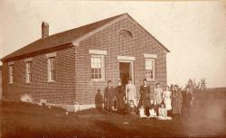 Bell Hill School, Otisfield, ca. 1899