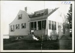 Otter Pond Cottage, Swan's Island, 1949