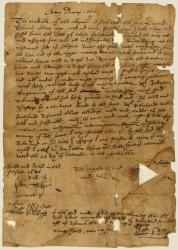 Robinhaud deed to land at Sheepscot River, 1662
