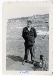 Fritz Johnson, Swan's Island, ca. 1925