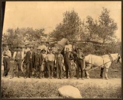 Electric line crew, ca. 1910