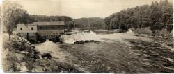Union Falls, Saco River, ca. 1910