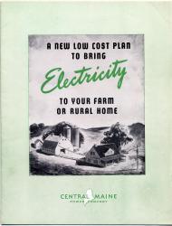 Rural electrification brochure, ca. 1935