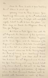 John Campbell letter on Peleg Wadsworth's escape, 1781