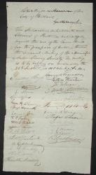 Maine Anti-Slavery Society request, 1836