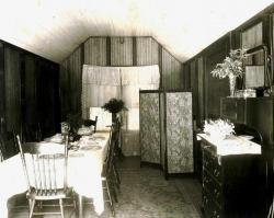 Frank Swan's summer camp, dining room