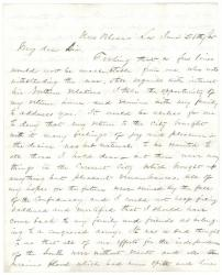 George Frost to George F. Shepley, New Orleans, 1865