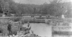Songo Locks in Naples, ca. 1890