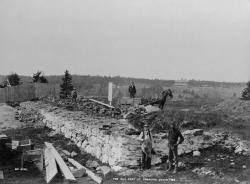 Old Fort at Pemaquid Beach, ca. 1900
