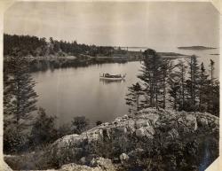 Cove near Castine, ca. 1910