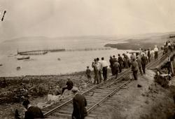 Fishing, Pleasant Point, ca. 1935