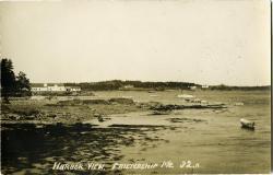 Harbor at low tide, ca. 1920