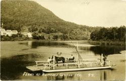 Rumford Center Ferry, ca. 1900