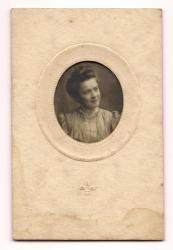 Sarah Emery at age 24, 1907