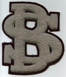 Varsity letter, South Bristol, ca. 1955