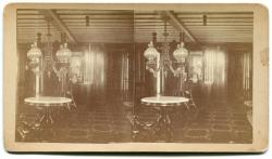 Steamboat Governor Coburn Interior, Greenville, ca. 1870