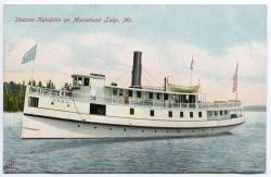 Steamer Katahdin on Moosehead Lake, ca. 1910