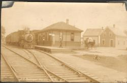 Train Station, Princeton, ca. 1890