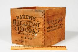 Baker's Cocoa box, ca. 1910