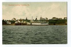 Steamboat Landing, 1908